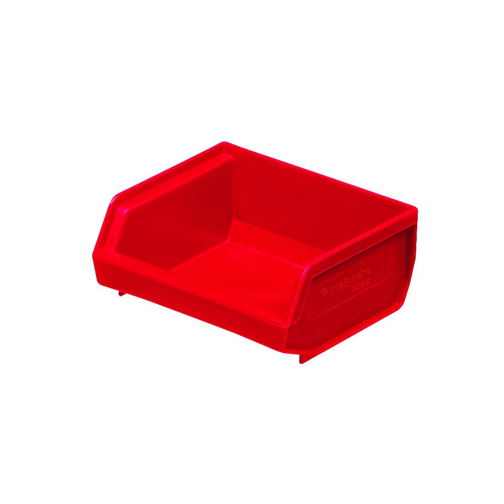 9076.000.215-Forrådsbakke-rød-96x105x45-mm