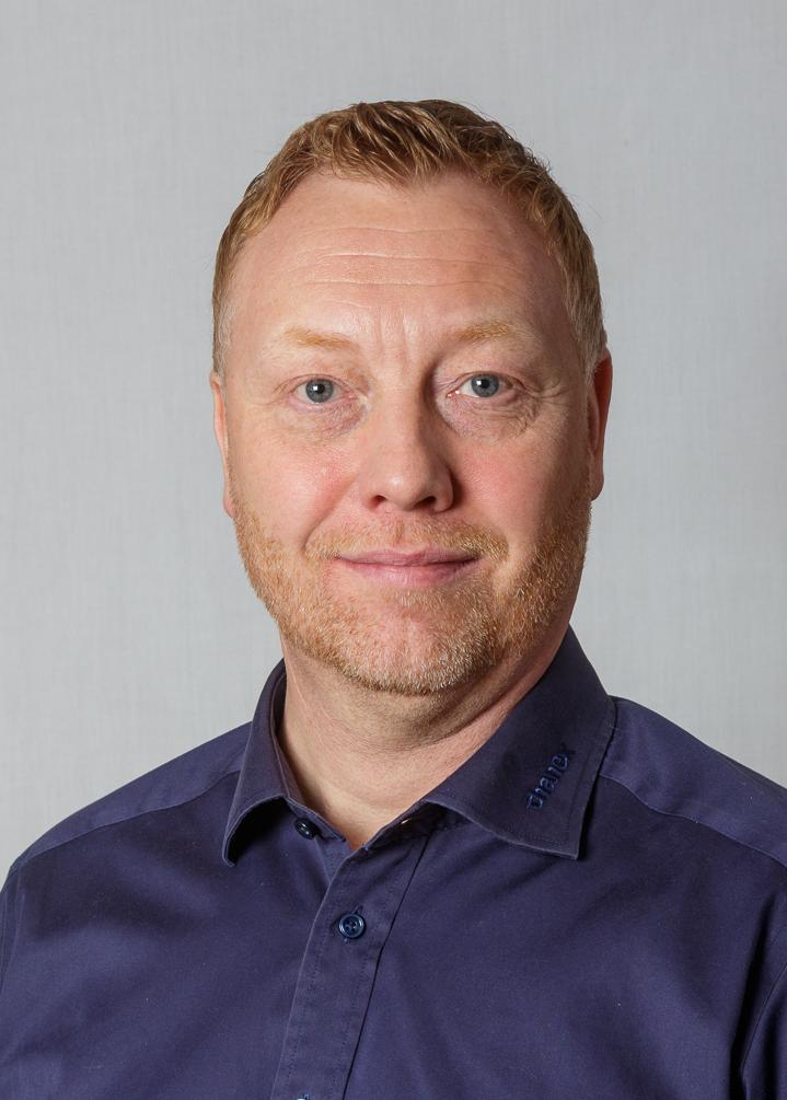 Bo Gulmann. Area Sales Manager Sjælland.