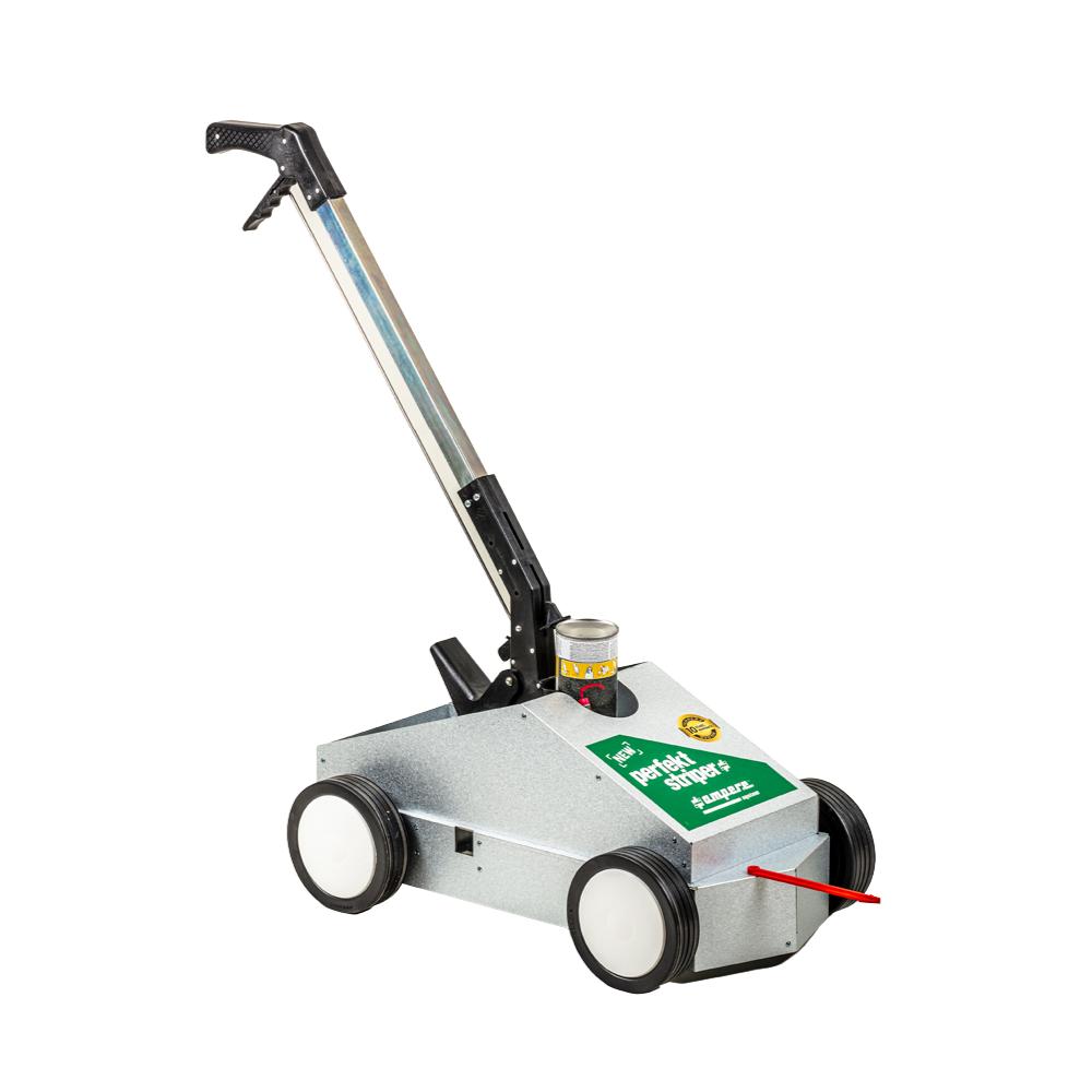 Markeringsvogn til optimal gulvmarkering på lager.