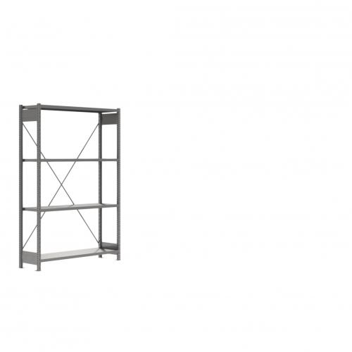 Thanex Stålreol Lagersystem. Stålreol 4 hylder. Længde 2000 mm.