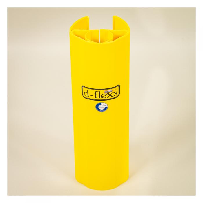 Stolpe beskytter 400mm til pallereol. Pallereol tilbehør med stort udvalg i stigebensbeskytter.