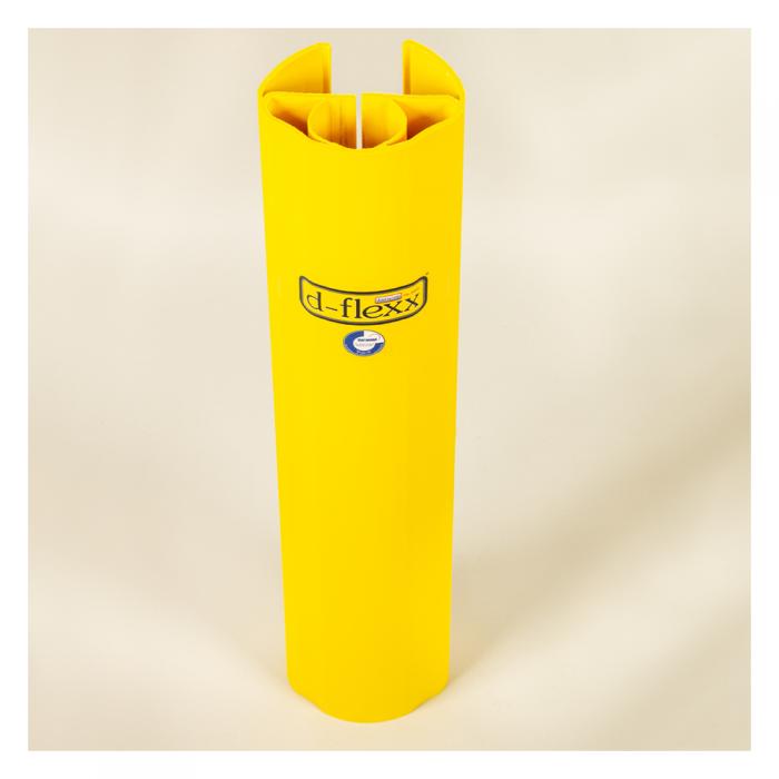Stolpe beskytter 600 mm giver effektiv beskyttelse af reoler. Stigebensbeskytter er lynhurtig at montere uden værktøj.