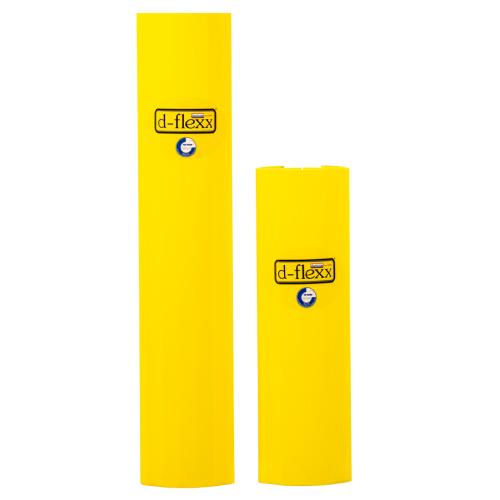 Stolpe beskytter 400 mm og stolpe beskytter 600mm. Stigebensbeskytter til pallereol. Pallereol tilbehør.