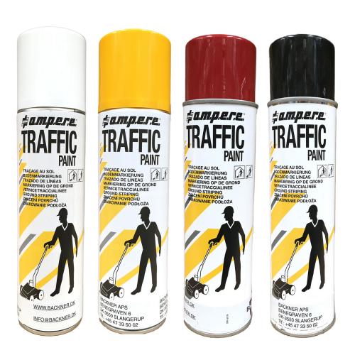 Traffic Paint Spraymaling til gulvmarkering. Spraymaling til markeringsvogn.